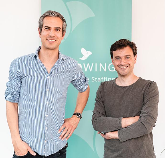 Johannes Roggendorf & Timo Fischer, Gründer von MEDWING